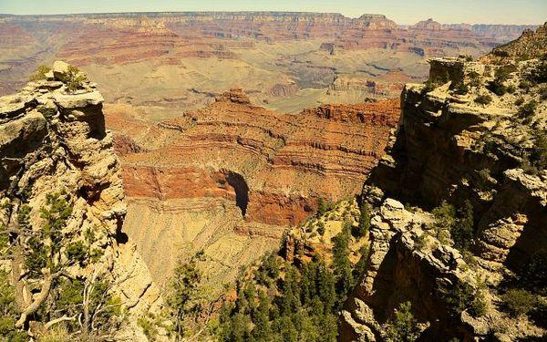 Vue depuis Mather Point Grand Canyon Arizona