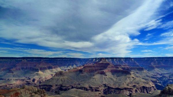Vue depuis Yavapai Point Grand Canyon Arizona
