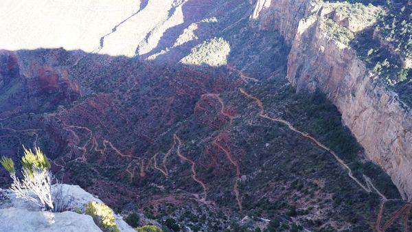 Trailview Overlook Grand Canyon Arizona