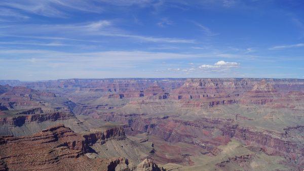 Vue depuis Moran Point GRand Canyon Arizona