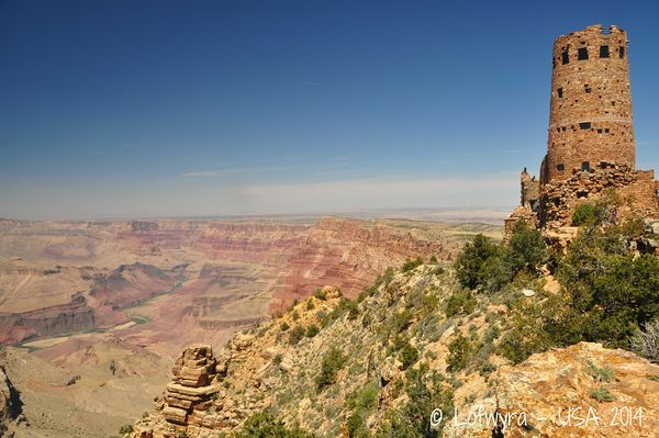 Watchtower Grand Canyon Arizona