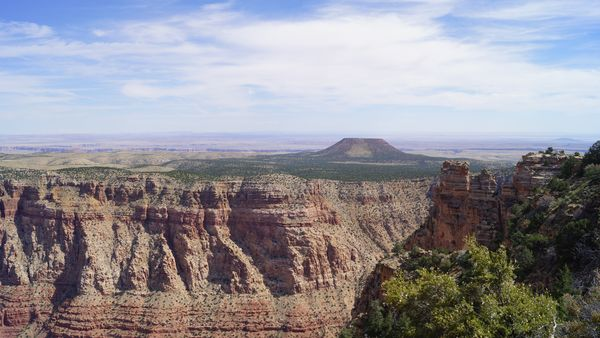 Vue depuis Watch Tower Grand Canyon Arizona