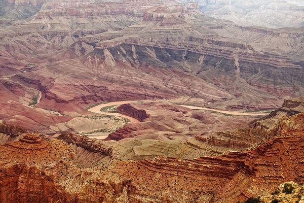 Vue depuis Lipan Point Grand Canyon Arizona