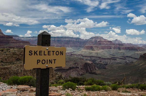 Skeleton Point South Kaibab Trail Grand Canyon Arizona