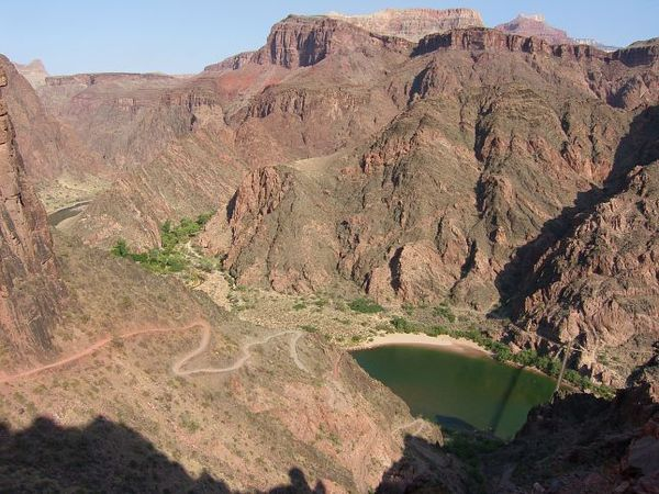 Skeleton Point Trail Colorado Grand Canyon Arizona