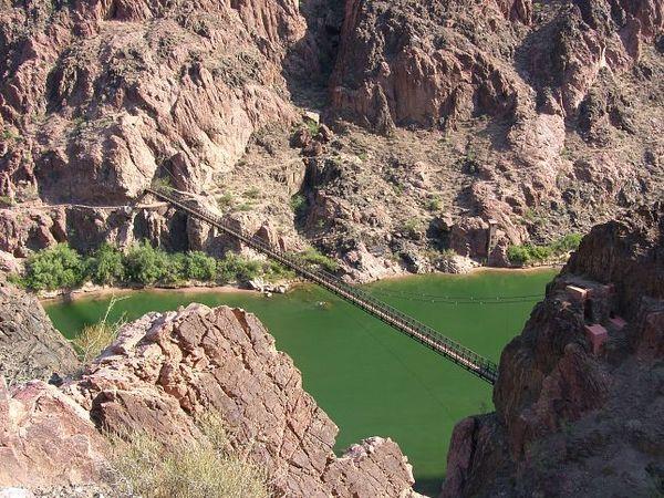 Black Bridge Grand Canyon Arizona