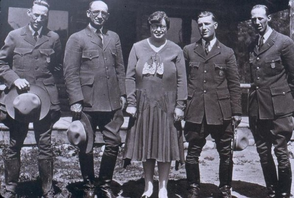 Grand Teton Staff in 1929