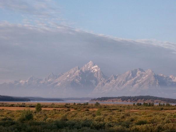Willow Flats Overlook Grand Teton Wyoming