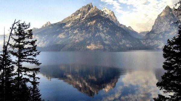 Jenny Lake Overlook Wyoming
