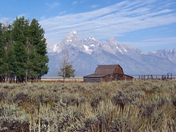 Mormon Row Wyoming