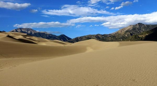 Montville Nature Trail Great Sand Dunes Colorado