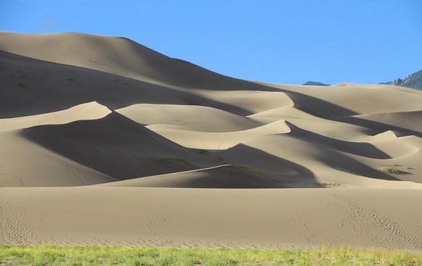 Overlook Great Sand Dunes Colorado