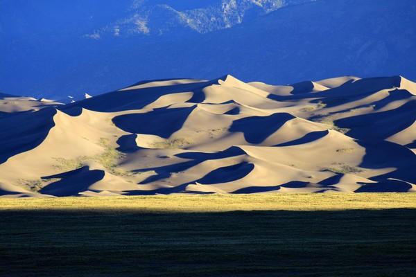 Great Sand Dunes depuis le Great Sand Dunes Lodge