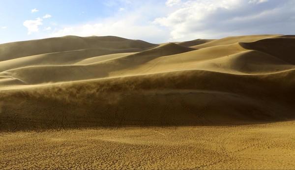 Action des vents Great Sand Dunes Colorado