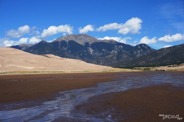 Medano Creek Great Sand Dunes