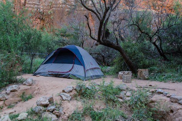 Camping Havasupai