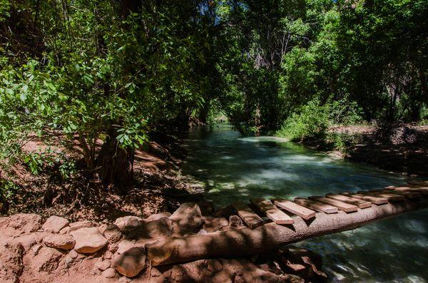 Rivière camping Havasupai