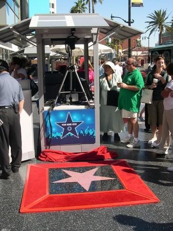 Votre étoile sur Hollywood Boulevard