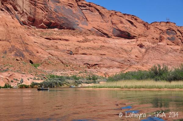 Horseshoe Bend vu depuis le Colorado