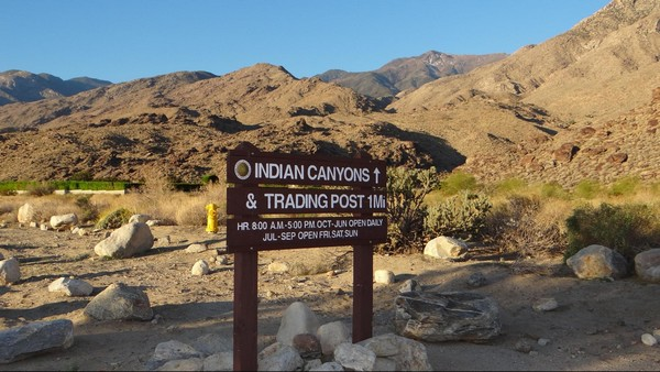 Indian Canyons Californie