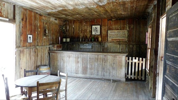 Le bar Jersey Lilly Saloon Langtry Texas