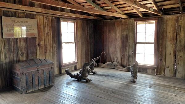 La salle de billard Jersey Lilly Saloon Langtry Texas
