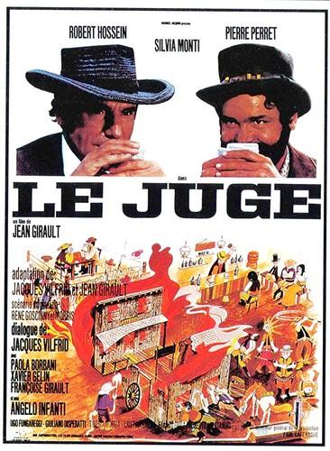 Affiche film Le Juge de Jean Girault