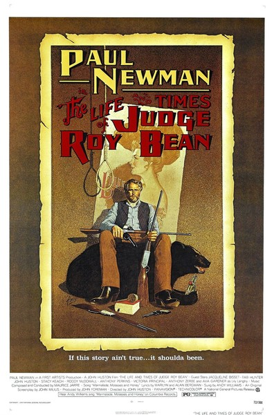 Affiche film The Real Times of Judge Roy Bean
