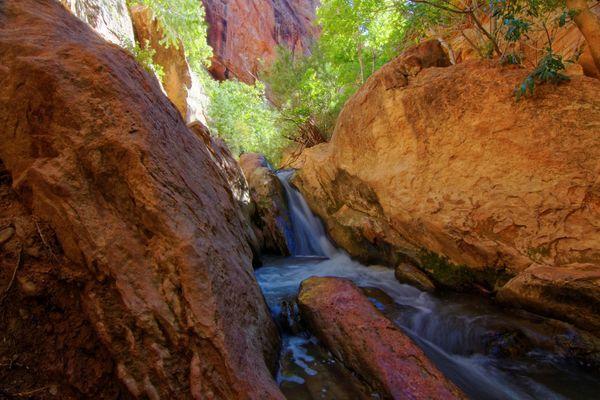 Première cascade Kanarra Creek Utah