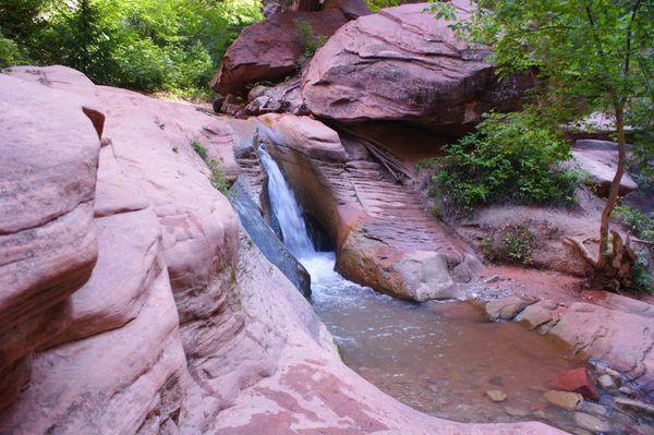 Cascade Water Slide & Pool Kanarra Creek Utah