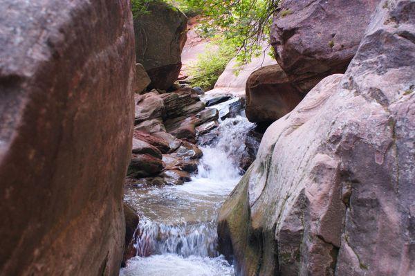 Rochers glissants Kanarra Creek Utah