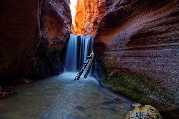 Upper Falls Kanarra Creek Utah