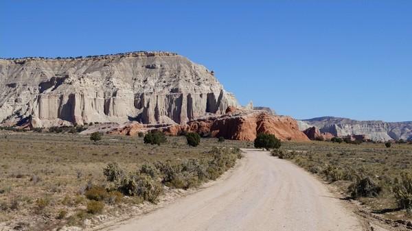 Secteur est Kodachrome Basin Utah