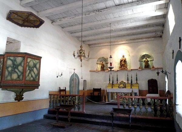 Chapelle mission La Purisima