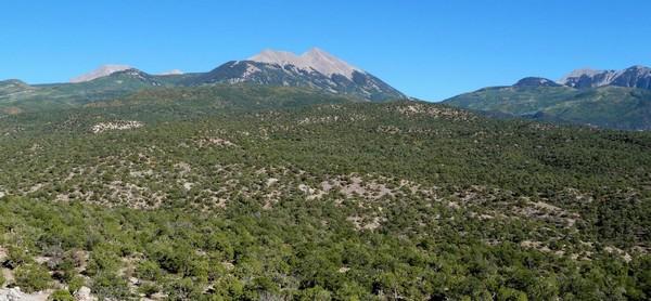 La Sal Mountain Loop Road Utah