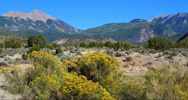 Paysages La Sal Mountain Loop Road
