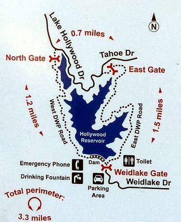 Plan Lake Hollywood Trail