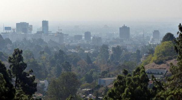 Pollution sur Los Angeles
