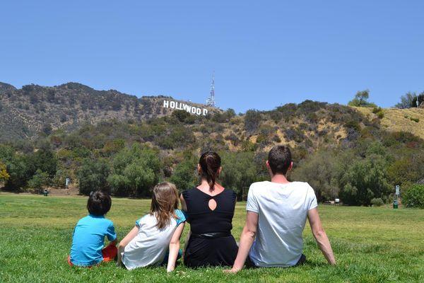 Rêver en famille face au Hollywood Sign