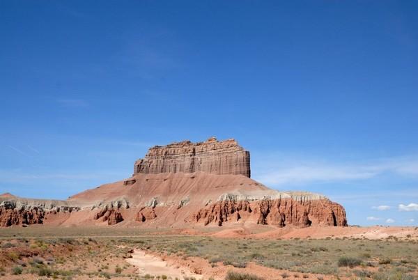 Sur la route menant à Little Wild Horse Canyon