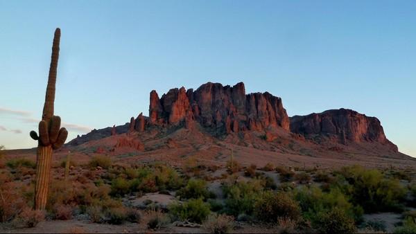 Discovery Interpretive Trail au coucher du soleil