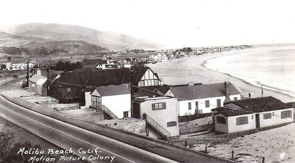 Malibu Colony, circa 1930