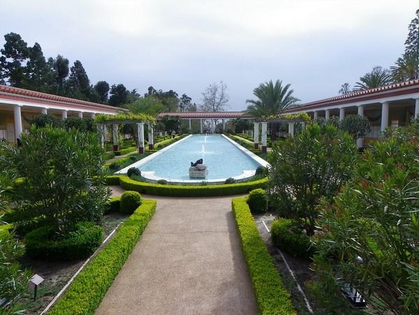 The Getty Villa Malibu
