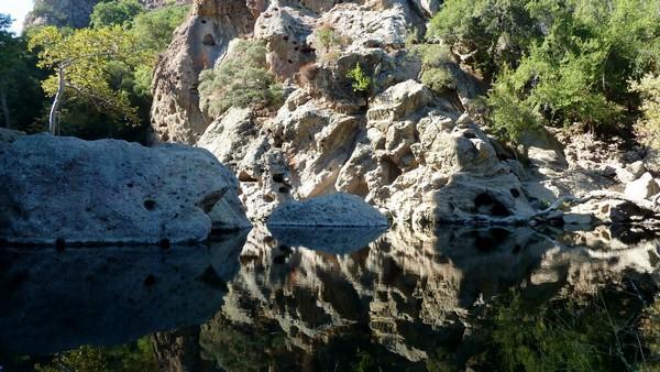 Rock Pool Malibu Creek State Park
