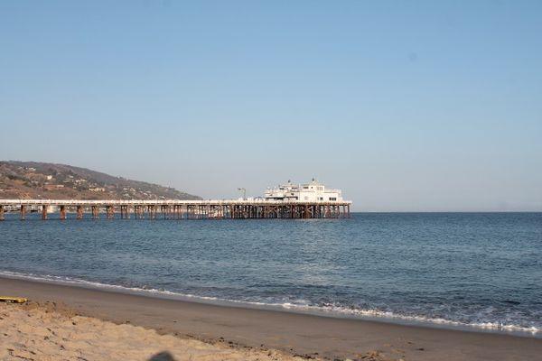 Surfrider Beach Malibu Californie