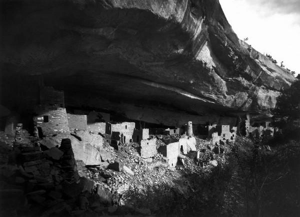 Cliff Palace en 1891 Mesa Verde