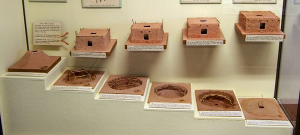 Évolution de l'habitat pueblo