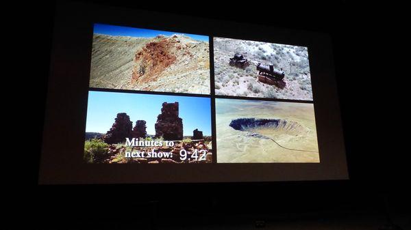 Film sur le phénomène des météorites