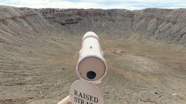 Longue vue Meteor Crater