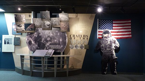 Musée Meteor Crater Arizona